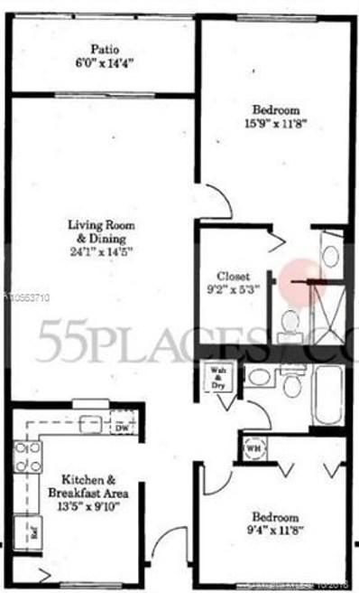 13101 SW 11th Ct UNIT 303B, Pembroke Pines, FL 33027 - #: A10563710