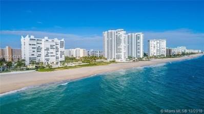 1390 S Ocean Blvd UNIT 11B, Pompano Beach, FL 33062 - #: A10564245