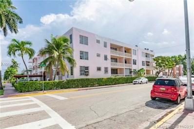 1150 Euclid UNIT 309, Miami Beach, FL 33139 - #: A10568227