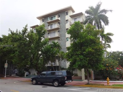 1820 James Ave UNIT 6B, Miami Beach, FL 33139 - #: A10568239