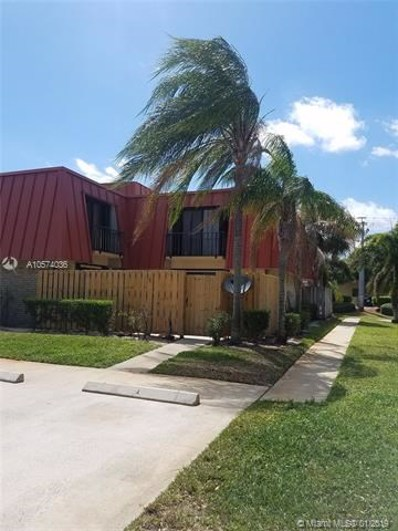 3201 Gardens East Dr UNIT C, Palm Beach Gardens, FL 33410 - #: A10574036
