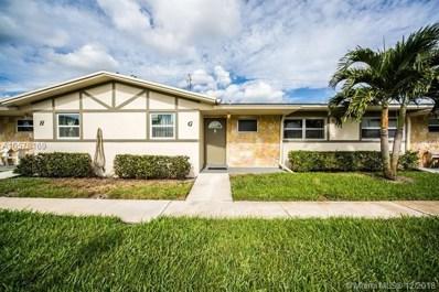 2557 Emory Dr UNIT G, West Palm Beach, FL 33415 - #: A10578169