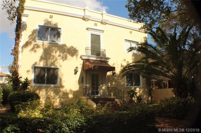 223 Calabria Ave UNIT 5, Coral Gables, FL 33134 - #: A10581157