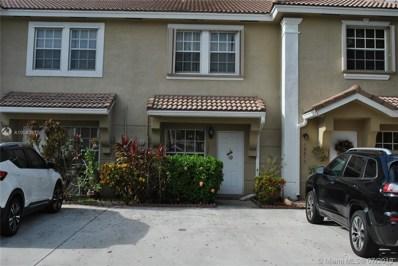 12219 SW 7th St, Pembroke Pines, FL 33025 - #: A10583977