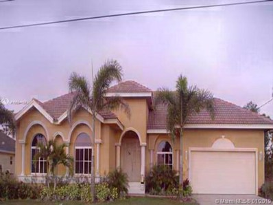 6110 Nw Densaw Ter, Port St. Lucie, FL 34986 - #: A10594153