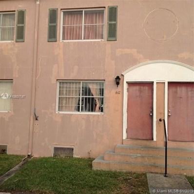 8447 NW 4th Ave UNIT 8447, Miami, FL 33150 - #: A10601747
