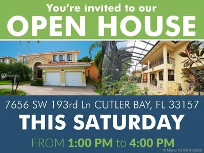 7656 SW 193rd Ln, Cutler Bay, FL 33157 - #: A10727696
