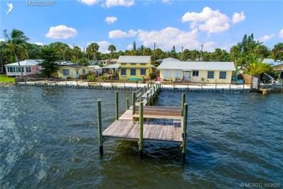 2725 NE Indian River Drive, Jensen Beach, FL 34957 - #: M20025897