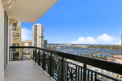 801 S Olive Avenue UNIT 1406, West Palm Beach, FL 33401 - #: RX-10381874