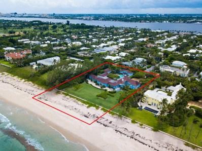 980 N Ocean Boulevard, Palm Beach, FL 33480 - #: RX-10385909