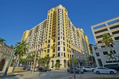801 S Olive Avenue UNIT 1514, West Palm Beach, FL 33401 - #: RX-10409416