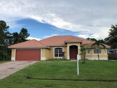 1750 SW Desert Avenue, Port Saint Lucie, FL 34953 - #: RX-10416752