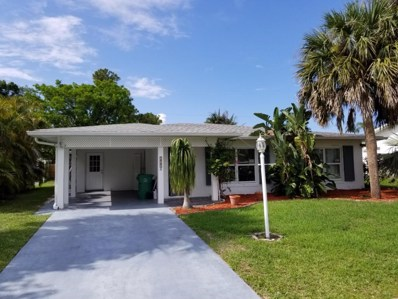 525 NW Billiar Avenue, Port Saint Lucie, FL 34983 - #: RX-10440755