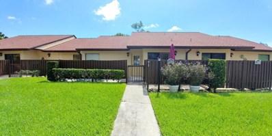 1030 Green Pine Boulevard UNIT G, West Palm Beach, FL 33409 - #: RX-10441507