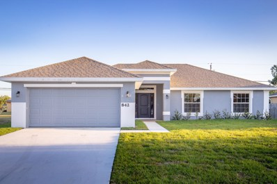 842 SW Harvard Road, Port Saint Lucie, FL 34953 - #: RX-10444545