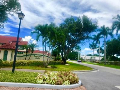 5 Lexington Lane E UNIT C, Palm Beach Gardens, FL 33418 - #: RX-10448819