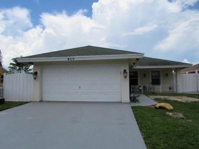4117 Faith Street, West Palm Beach, FL 33406 - #: RX-10451315