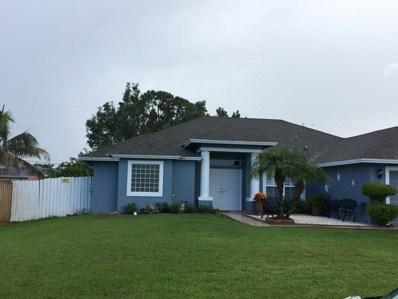 550 SW Fairway Avenue, Port Saint Lucie, FL 34983 - #: RX-10453238