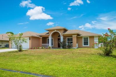 4541 SW Floral Street, Port Saint Lucie, FL 34953 - #: RX-10459656