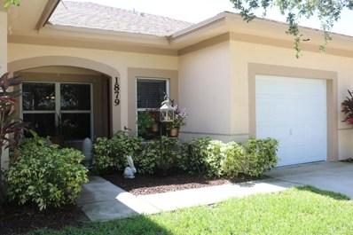 1879 S Dovetail Drive, Fort Pierce, FL 34982 - #: RX-10460601
