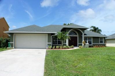 383 SW Dustin Avenue, Port Saint Lucie, FL 34953 - #: RX-10461019