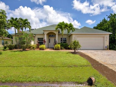 3513 SW San Benito Street, Port Saint Lucie, FL 34953 - #: RX-10461366