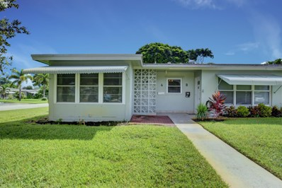640 High Point Boulevard N UNIT A, Delray Beach, FL 33445 - #: RX-10462047