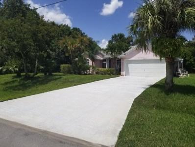 1956 SW Aladdin Street, Port Saint Lucie, FL 34953 - #: RX-10462464