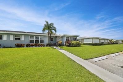 260 High Point Court UNIT D, Boynton Beach, FL 33435 - #: RX-10465035