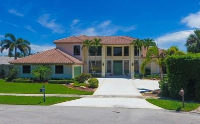 718 Carriage Hill Lane, Boca Raton, FL 33486 - #: RX-10467839