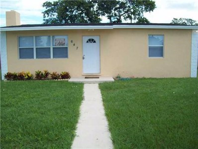 647 Aspen Road, West Palm Beach, FL 33409 - #: RX-10468586