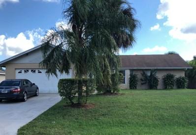 686 SW Lucero Drive, Port Saint Lucie, FL 34983 - #: RX-10468759