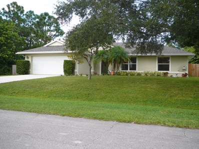 6860 NW Dragon Street, Port Saint Lucie, FL 34983 - #: RX-10472107