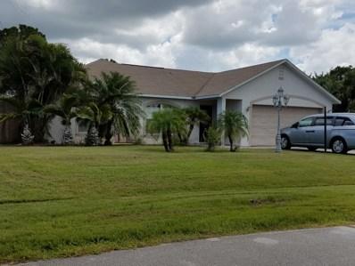 5722 NW Alcazar Terrace, Saint Lucie West, FL 34986 - #: RX-10472836