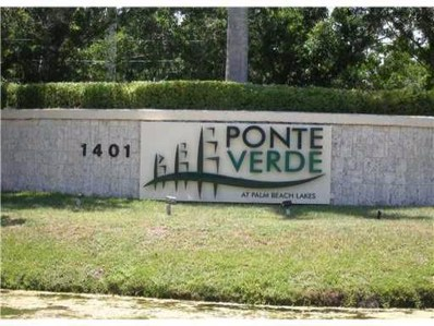 1401 Village Boulevard UNIT 622, West Palm Beach, FL 33409 - #: RX-10474628