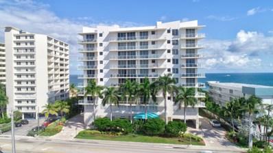 704 N Ocean Boulevard UNIT 603, Pompano Beach, FL 33062 - #: RX-10475880