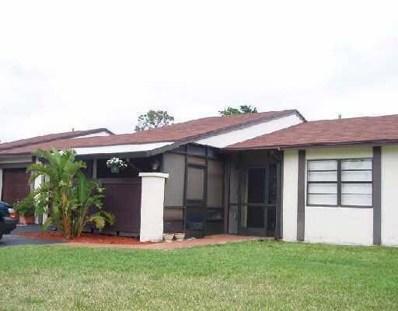 24 Horicon Court UNIT 24, Royal Palm Beach, FL 33411 - #: RX-10476288