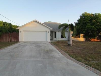 541 SW Lairo Avenue, Port Saint Lucie, FL 34953 - #: RX-10477902