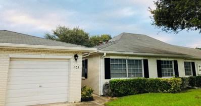 10087 S 42nd Drive UNIT 103, Boynton Beach, FL 33436 - #: RX-10477964