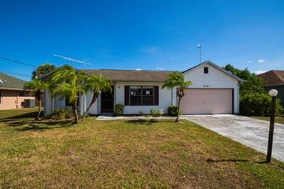 3881 SW Wycoff Street, Port Saint Lucie, FL 34953 - #: RX-10479649