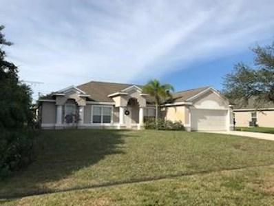 187 SW N Wakefield Circle, Port Saint Lucie, FL 34953 - #: RX-10479862