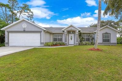 1614 SW Bascom Avenue, Port Saint Lucie, FL 34953 - #: RX-10480696