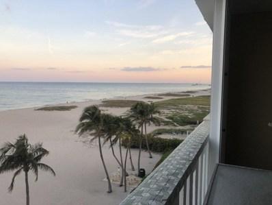 1012 N Ocean Boulevard UNIT 506, Pompano Beach, FL 33062 - #: RX-10482839