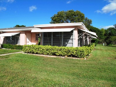 247 High Point Court W UNIT D, Delray Beach, FL 33445 - #: RX-10486873