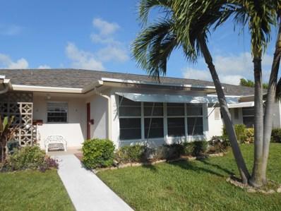 1242 Club Drive W UNIT B, Delray Beach, FL 33445 - #: RX-10491074