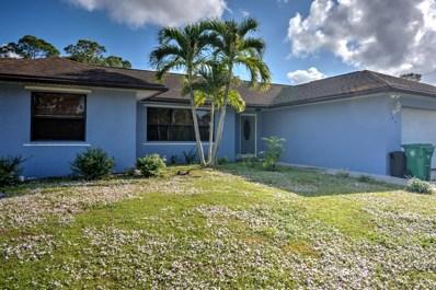 184 SW Klee Circle, Port Saint Lucie, FL 34953 - #: RX-10491486