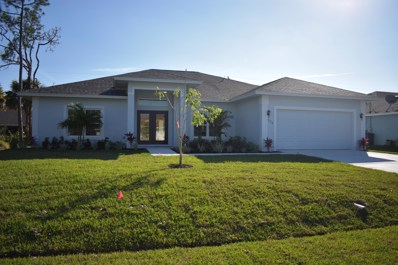 670 SW Gailbreath Avenue, Port Saint Lucie, FL 34953 - #: RX-10495408