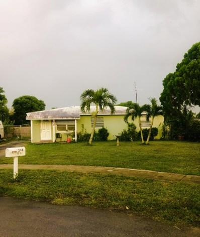294 Beretta Court, West Palm Beach, FL 33415 - #: RX-10496176