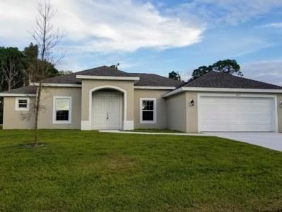 1825 SW Renfro Street, Port Saint Lucie, FL 34953 - #: RX-10499726