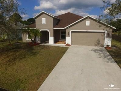 1761 SW Bradway Lane, Port Saint Lucie, FL 34953 - #: RX-10505418